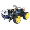 Arduino intelligent car development board learing kits maker robot kits 4WD supported install Arduino and Raspberry