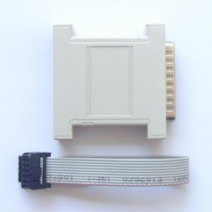 Xilinx CPLD/FPGA parallel port download cable