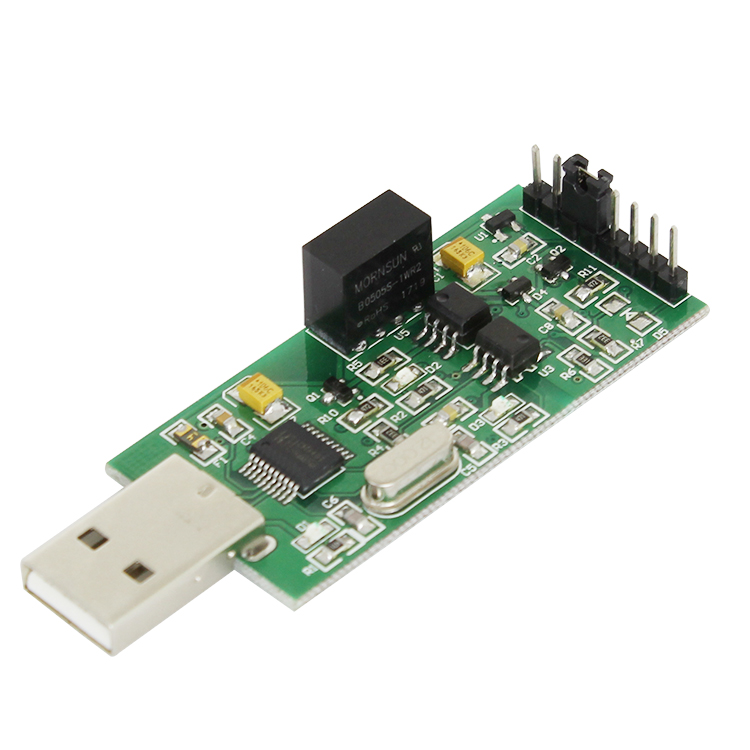 High-speed isolation USB to TTL Serial Module Power isolation Optocoupler isolation 3.3V 5V TTL output CH340 module