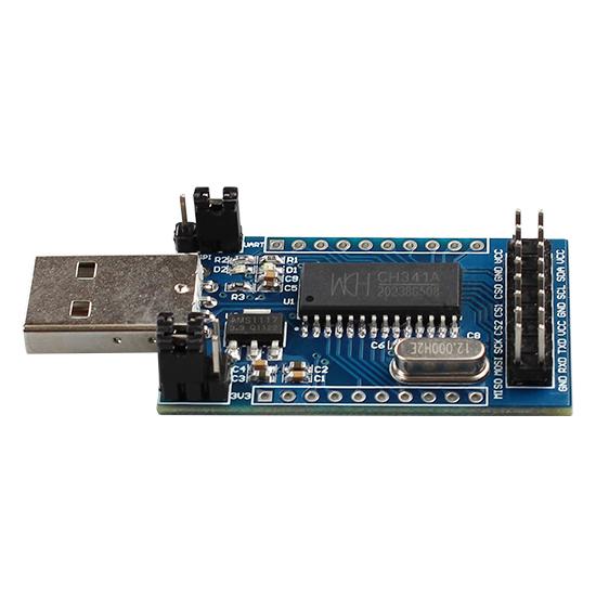 CH341A USB to UART/IIC/SPI/TTL/ISP adapter EPP/MEM