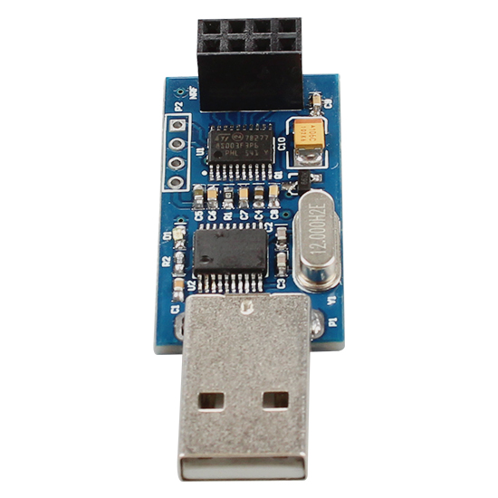 USB to NRF24L01 module USB wireless serial interface module transparent transmission data communication acquisition module